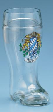 1.0 L BAYERN GLASS BOOT