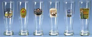WEIZENBIER GLASSES-SET OF 6 ASSORTED