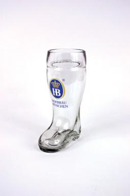 HB 0.5 LITER GLASS BOOT