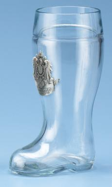 0.5 LITER BOOT W/ GERMANY BADGE