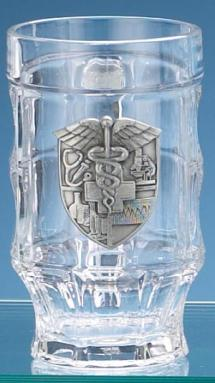 MEDICAL GLASS FACET MUG