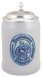 Franziskaner 0.5 L Salt Glaze with Lid