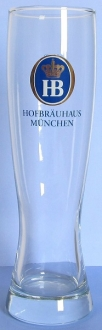 Hofbrauhaus Munchen Munich Wheat Beer Glass