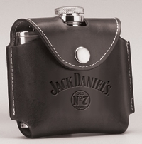 JACK DANIEL'S BLACK COVER FLASK