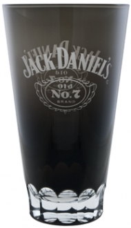 Jack Daniel's Black Glass Mixing Glass