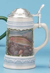JON Q WRIGHT TROUT STEIN