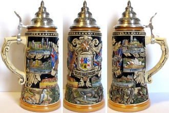 Limited Edition Australia German Beer Stein 1L