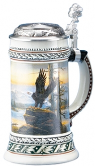 EAGLE WILDLIFE STEIN