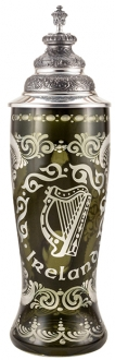Ireland Colored Cased Glass Stein