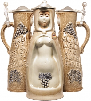 Wine Witch Weinhex German Beer Stein