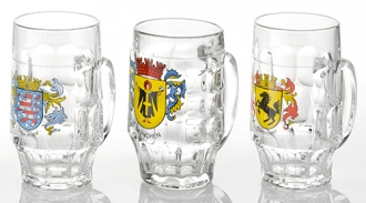 MALLES 0.5L-GERMAN CRESTS ASST