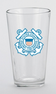 U.S. Coast Guard Mixing Glass
