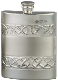 Celtic Pewter Flask