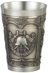 Pewter Firefighter Shot