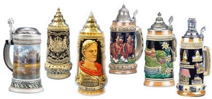 Beer Steins-German Traditional