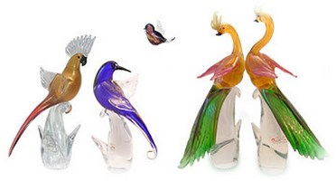 Murano Glass Birds