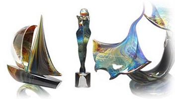 Calcedony Murano Glass