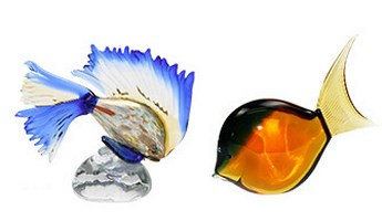 Nautical Murano glass