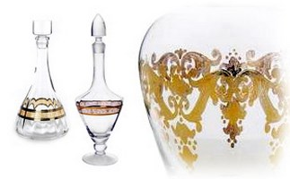 Glass Decanters & Pitchers