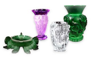 Art Glass Centerpieces