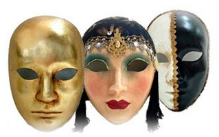 Full Face Venetian Masks