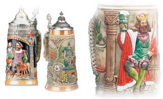 Castles & Knights Beer Steins