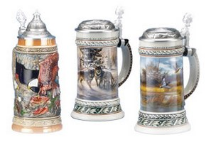Wildlife Scenes Beer Steins