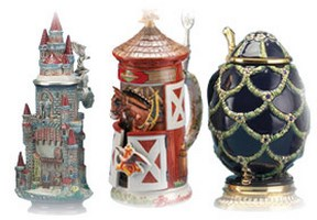 Three-Dimensional Beer Steins