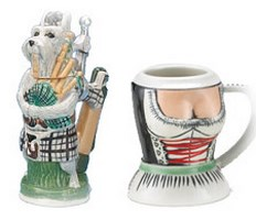 Mini Figural Beer Steins