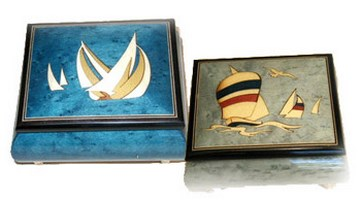 Nautical Music Boxes