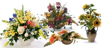 Artificial Flowers, Plants