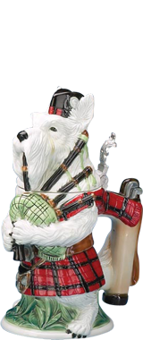 1001 Beer Steins –  Dogs Figurine Beer Steins