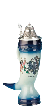 German stein companies that still produce every one of their beautiful steins in Germany with 100% German materials and labor. German quality and engineering is known around the world for quality, attention to detail and fine craftsmanship.
