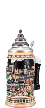 We carry steins from many makers including King-Werks, also known as Wuerfel & Mueller; this premier company is one of only a few remaining German stein companies that still