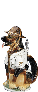 Dogs Figurine Beer Steins - Father