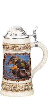 1001 Beer Steins – Wildlife Scenes Beer Steins