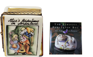 This is selection of elegant porcelain Limoges Boxes having themes that memorialize important books that touch your life or profession.