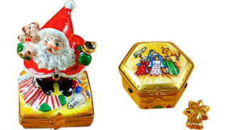 Includes Nutcracker, Snowman Couple, Studio Collection with Santa Claus, Christmas Boot, etc.