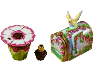 Limoges Boxes -Garden Boxes