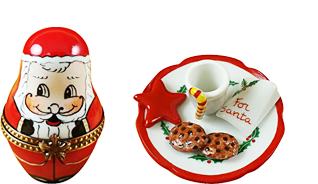 This is selection of elegant porcelain Limoges Boxes having mouth-watering themes that feature your culinary favorites.