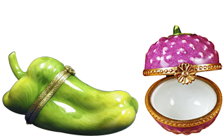 Limoges Factory - Fruits and Vegetables
