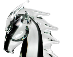 Murano glass animals are universally acclaimed for their delicate beauty and structural perfection.