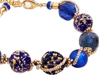 These Murano Glass bracelets are as elegant as they are fun.