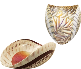 Laguna Artistico -designs created by the Murano glass artists