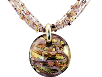 The finest raw materials result in glass of unequaled purity - a trademark of the highly sought after Murano Glass pieces and Murano Glass Pendants.