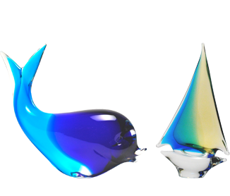 The Murano glass figures with nautical themes are fabulous articles which capture the hearts of art lovers all over the world.