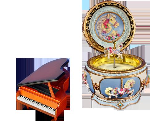 Amazing Music Boxes – Unique Collectible Music Boxes