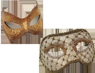 Venetian Columbina Masks