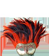 Venetian  Colorosa Masks