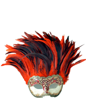 Venetian  Colorosa Masks